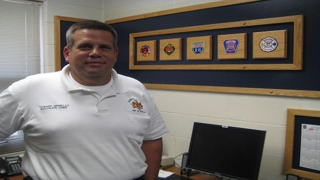 Battalion Chief Ed Brinkley has been with the Fairfax County Urban Search and Rescue Team and with the county's fire department for more than 20 years.