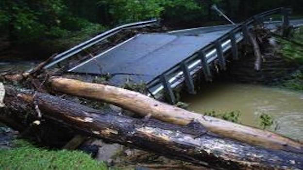 Repairs to Virginia bridges damaged in the flooding from Tropical Storm Lee are going more slowly than residents would like.