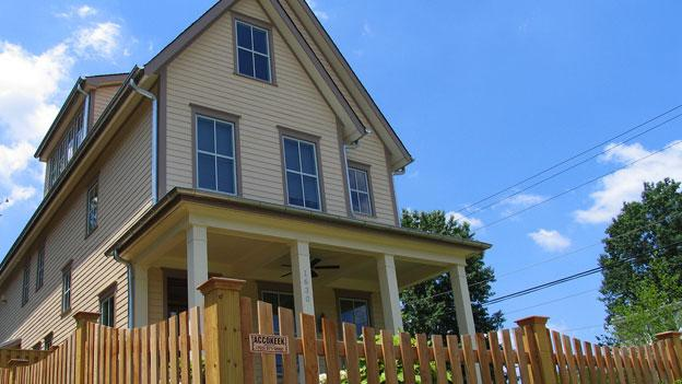 A nonprofit group in Arlington County is embarking on the 100 Homes project to provide homes to 100 of the area's most needy individuals.