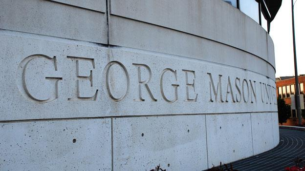 "U.S. News and World report recently named George Mason University the second most ""up-and-coming"" school in the country. The school's Arlington campus is pictured here."