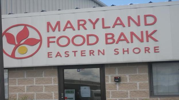 The Maryland Food Bank in Salisbury serves a large number of people in the Eastern Shore.