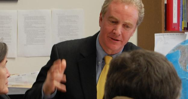 Maryland Democratic Rep. Chris Van Hollen has been Vice President Biden's primary sparring party leading into the VP debate on Thursday night.