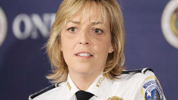 Metro Police Chief Cathy Lanier signed a new contract at her current salary of $253,000.