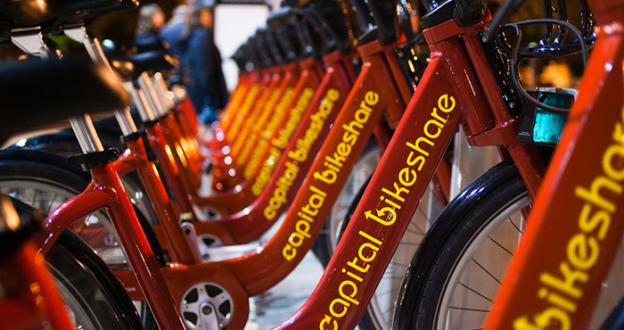 "Capital Bikeshare is holding a party in Yards Park Thursday to celebrate the 11th ""Car Free Day,"" which has a record number of pledges."