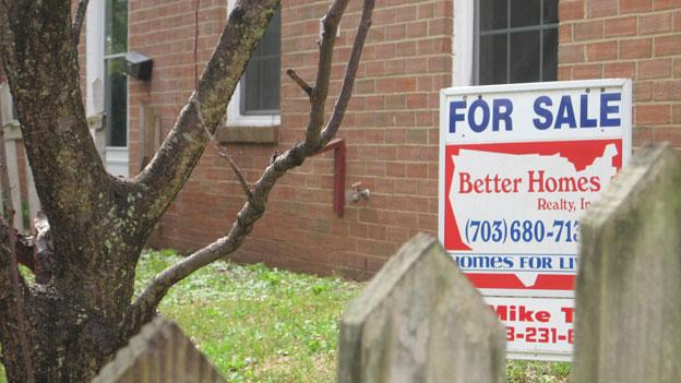 A foreclosed home now for sale in the Georgetown South neighborhood of Prince William County, Va.