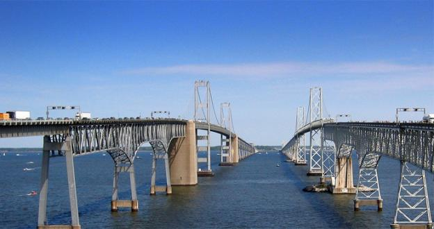 The Maryland Transportation Authority voted to increase tolls on major roads and bridges in the area, including raising the cost of the Chesapeake Bay Bridge from $2.50 to $4.00.