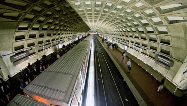 Metro weekend track work will continue onto Veteran's Day Monday, when trains will be running on a Saturday schedule.