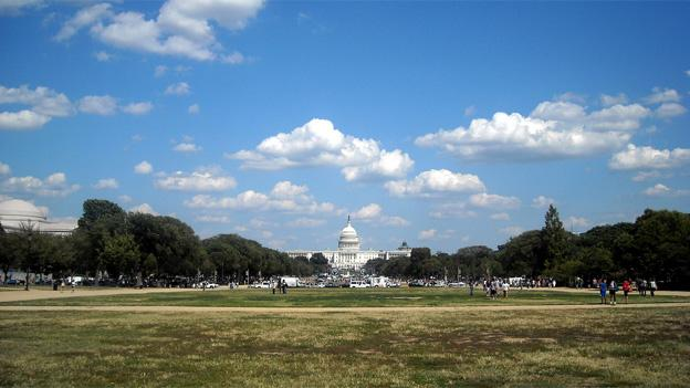 With the museums closed, the National Mall may be a good deal less crowded than normal this week.