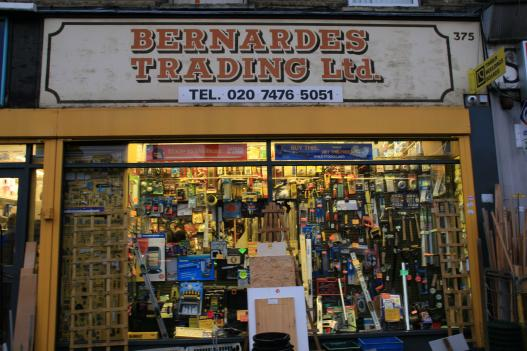 The Bernardes shop in East London