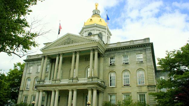 The New Hampshire state legislature is considering a bill that would express support for D.C. statehood.