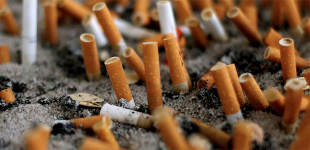 Maryland smokers with children may soon have to stop lighting up on the road.