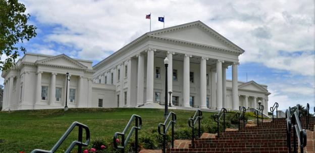 The Virginia state house passed two laws restricting abortions in the state.