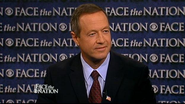 Maryland Governor Martin O'Malley (D) appeared on the the Oct. 2 episode of Face the Nation on CBS, and he had some harsh words for New Jersey Governor and possible Republican presidential candidate Chris Christie (R).