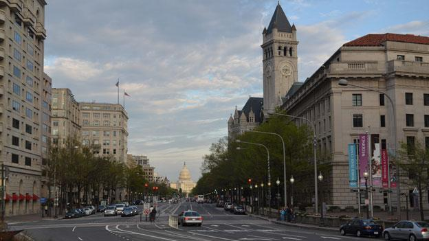 A national nonprofit has named Pennsylvania Avenue in D.C. as one of the country's 10 most endangered landmarks.