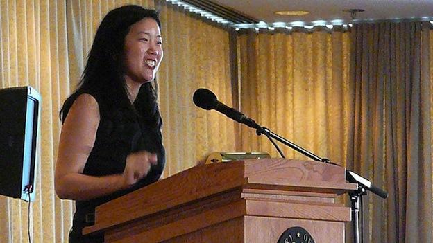 Former D.C. Public Schools Chancellor Michelle Rhee in 2008.
