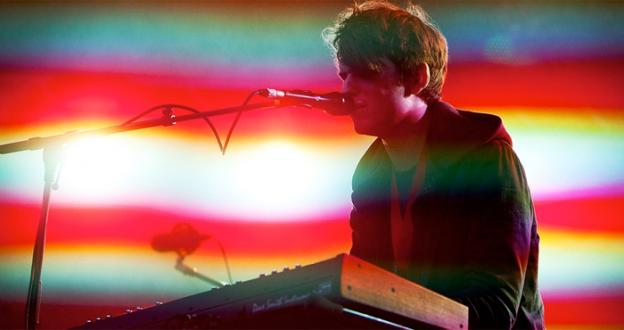 Electronic musician James Blake plays Sunday night at Washington's 9:30 Club.