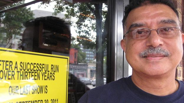 Elsayed Mansour has co-owned 1409 Playbill Cafe since 1981. He's hoping to move the business to a lower-rent neighborhood soon.