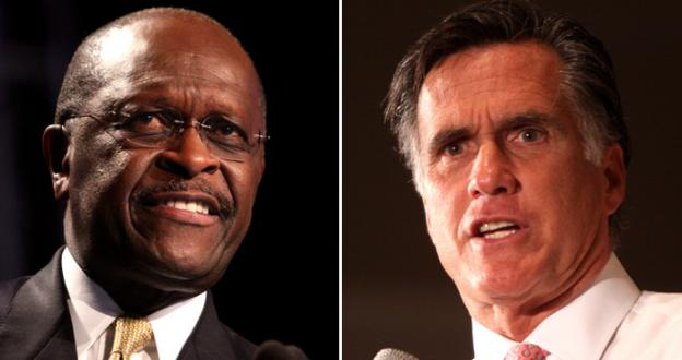 GOP Presidential candidates Herman Cain and Mitt Romney are tied for the lead amongst Virginia Republicans surveyed by Quinipiac University.