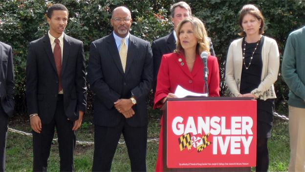 Jolene Ivey joined Doug Gansler's campaign for Maryland governor.