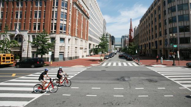 Is Bikeshare the fastest option? RideScout will let you know.