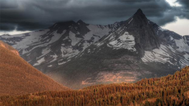 Glacier National Park in Montana, where two area hikers are presumed lost, spans over 1,000,000 acres.