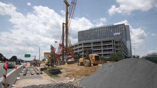 Continued construction of Tysons Corner's transportation network will be funded by taxes on commercial properties, lawmakers say.