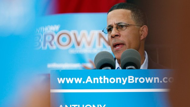 Lt. Gov. Anthony Brown has been the early favorite to represent Democrats in the Maryland gubernatorial primary.