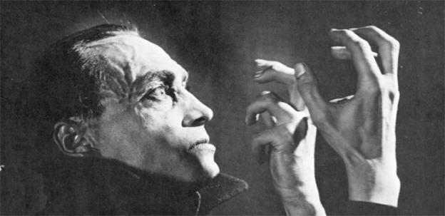 The Hands of Orlac screens with a live score in Herndon Saturday night.
