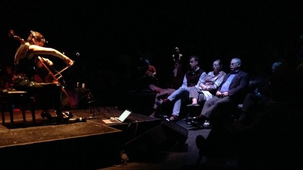 Katinka Kleijn and her brain made sweet music together recently at the Atlas Performing Arts Center in Washington D.C.