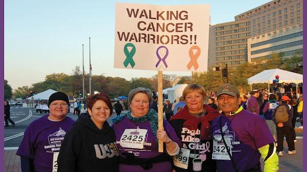 Participants in the National Race to End Women's Cancer are racing to raise awareness and research funding to fight cancers unique to women.
