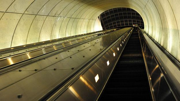 Bethesda commuters still have a few years to wait for replacement of the escalators at their Metro station; all three escalators went out at the same time last week and twice Tuesday before the Montgomery County Council held a meeting on the problem.