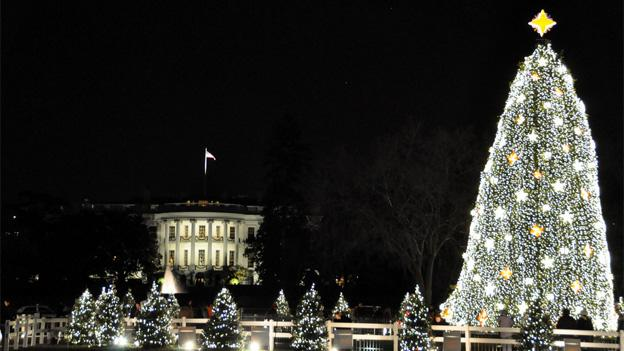 The National Christmas Tree Lighting Ceremony is always a big draw in D.C.