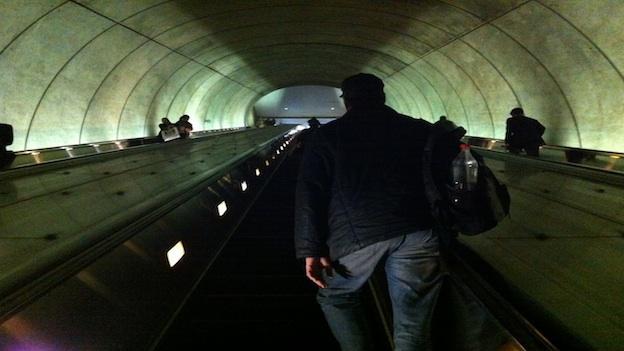 Commuters are losing patience over Metro's broken escalators.
