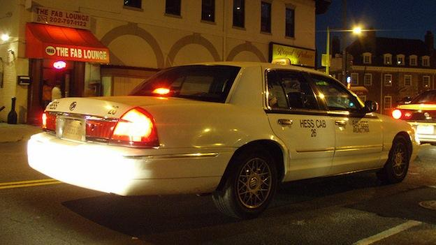 D.C. taxis are authorized to add an emergency flat rate of $15 per trip because of Hurricane Sandy.