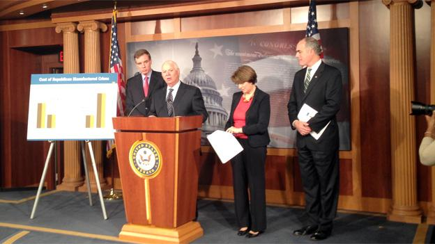 Sens. Warner and Cardin are calling for a budget agreement well ahead of the January deadline.