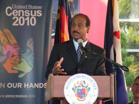 Montgomery County Executive Ike Leggett says the 2010 Census survey will speak volumes about Maryland's residents.