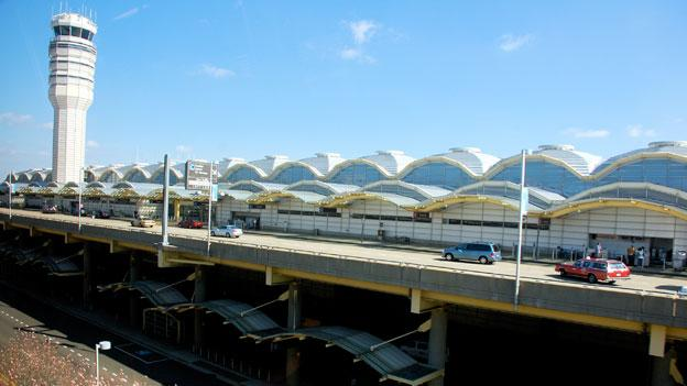 The Metropolitan Airports Authority board, which oversees Reagan National Airport, above, and Dulles International Airport, could get smaller under a new proposal from Rep. Frank Wolf (R-Va.).