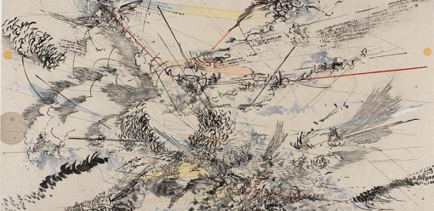 Master abstract artist Julie Mehretu gives a lecture tonight at the American Art Museum.