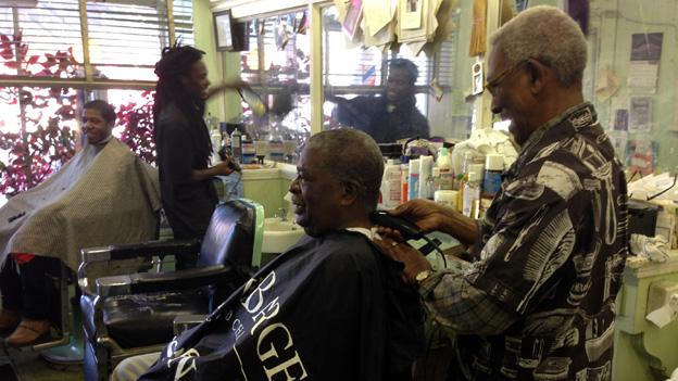 Gregg's Barbershop has been a long-time institution in Shaw, serving the neighborhood for more than 100 years.