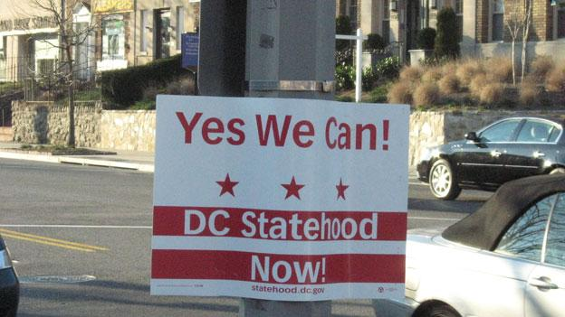 D.C. residents have been campaigning for statehood for years to no avail.