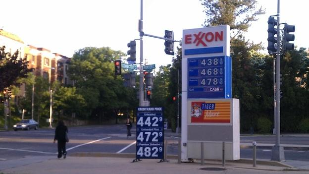 Isaac is driving up gas prices in the D.C. area.