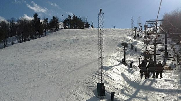 Wisp Ski Resort in McHenry, Md. as seen in February 2012.