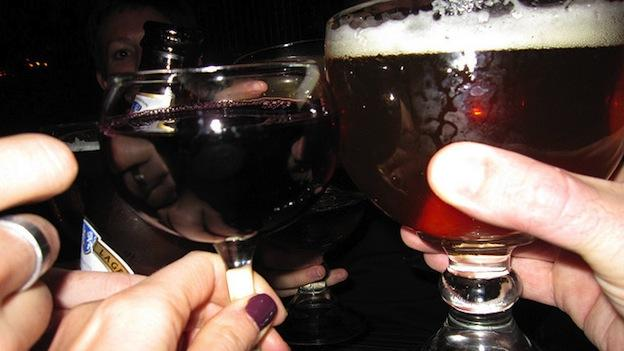 Residents in Damascus, Md. approved a measure to allow the sale of beer and wine in local restaurants.
