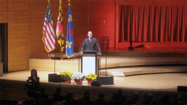 "Montgomery County Superintendent Dr. Joshua Starr gave the first ever ""state of the schools"" address Monday."