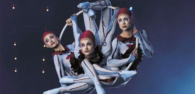 Quidam brings all sorts of circus tricks to the Verizon Center this week.