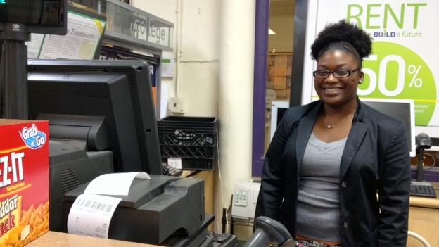 Thanks to the generous offers of WAMU listeners, college students like Darelle Doleman, a junior at Trinity Washington University, will have a place to stay over the holidays.