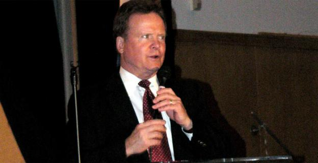 Under current rules, only Tim Kaine and George Allen qualify for the debate for candidates looking to fill the Senate seat vacated by Jim Webb, pictured.