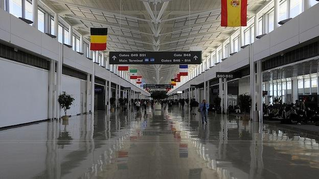 Dulles International Airport is 50 years old.