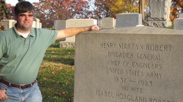 D.C. tour guide Tim Krepp says Henry Martyn Robert forever changed the way we moderate group discussions and meetings.