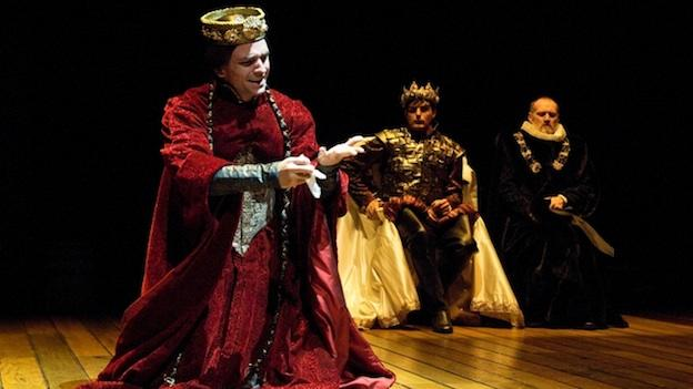 The Bard and King James meet in Equivocation at Arena Stage.